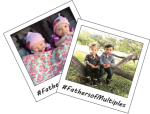 """Instagram """"#2Cute"""" Monthly Photo Contest - Sponsored by Baby Dove - fathers of multiples"""